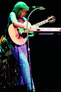 Concert Photos Art - Steve Howe of Yes 1980 Drama Tour by Daniel Larsen