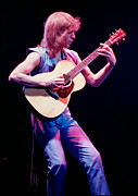 Concert Photos Art - Steve Howe of Yes performing The Clap by Daniel Larsen
