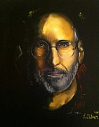 Steve Jobs Print by Larry Silver