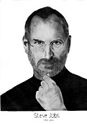 Itunes Framed Prints - Steve Jobs Framed Print by Raghav Ram