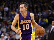 Nba Art - Steve Nash by Sanely Great