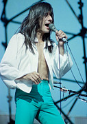 Concerts Prints - Steve Perry of Journey at Day on the Green - July 1980 Print by Daniel Larsen