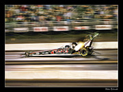 Blake Richards Framed Prints - Steve Torrence NHRA Top Fuel Framed Print by Blake Richards