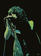 Steven Tyler 2 Print by Paul  Meijering