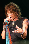 Bmi Framed Prints - Steven Tyler Framed Print by Don Olea
