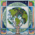 Quilt Drawings - Stewardship of the Earth by Arla Patch