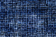 Mathematical Digital Art Prints - Stick Labyrinth Print by Hakon Soreide