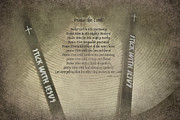 Drum Sticks Framed Prints - STICK with Jesus Framed Print by Casey Hanson