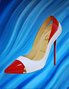Must Art Painting Metal Prints - Stiletto Metal Print by Robin Kirkpatrick