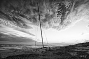 Clouds Photographs Posters - Still Ashore Poster by Phill  Doherty