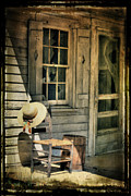 Old House Photos - Still Country Life by Sari Sauls