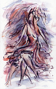 Dancing Girl Prints - Still Dancing Print by Rachel Christine Nowicki