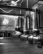 Distillery Photos - Still In Kentucky 2 bw by Mel Steinhauer