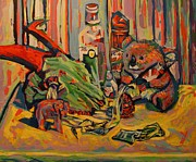 Koala Pop Art Paintings - Still Life 2 by Ian Oliver