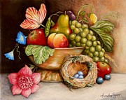 Grape Leaf Originals - Still Life by Amanda  Stewart