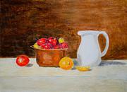 Laurel Best - Still Life Apples and...