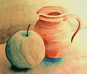 Water Jug Art - Still Life by Claudia Oblaender