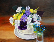 Sherrill McCall - Still Life Freesias and...