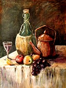 Food And Beverage Painting Originals - Still Life by Marilyn Smith
