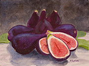 Figs Prints - Still Life No.5 Print by Mike Robles
