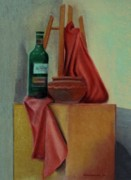 Studio Pastels - Still Life on Studio by Kostas Koutsoukanidis