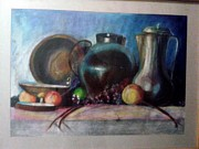 Featured Pastels Originals - Still life by Samiha