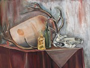 Turk Painting Originals - Still Life by Senol KARAKAYA