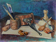 Nature Study Painting Originals - Still life study by Adin OLTEANU
