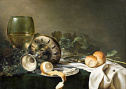 Famous Artists - Still-Life by Willem Claeszoon Heda