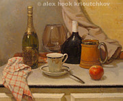 Alex Hook Krioutchkov - Still-life with a...