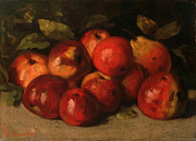 Famous Artists - Still Life with Apples and a Pear by Gustave Courbet