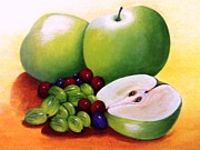 Brid Wade - Still Life With Apples