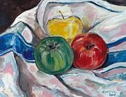 John Keaton - Still Life with Apples