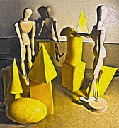 Gregory Dyer - Still Life with Basic Shapes