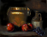 Barry Williamson - Still life with brass pot