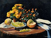 Sergey Lutsenko - Still life with melon