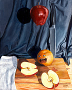 Thomas Weeks - Still Life with Orange ...