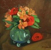 Kat Logan - Still life with Roses...