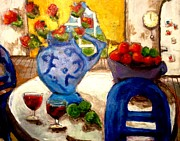 Dilip Sheth - Still life with wine...