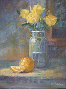 Bart DeCeglie - Still life. Yellow roses