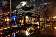 Shrimp Boat Originals - Still Marina by Michael Thomas