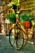 Bicycles Digital Art - Still Useful by Lois Bryan