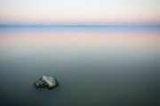 Salton Sea Prints - Still Water Print by Peter Tellone