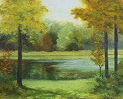 Becky Paintings - Still Waters by Becky West