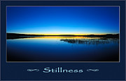 Beautiful Words Posters - Stillness 2 Poster by ABeautifulSky  Photography