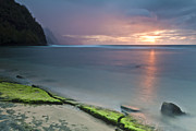 Sunset Seascape Framed Prints - Stillness Framed Print by Jon Glaser