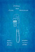 Stillson Wrench Patent Art 1870 Blueprint Print by Ian Monk