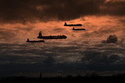 Aviation Prints - Stirling Service Print by James Biggadike