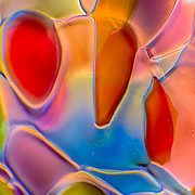 Colorful Photos Glass Art Prints - Stitch Print by Omaste Witkowski