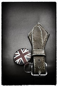 Key Chain Framed Prints - .stitched Up Framed Print by Russell Styles